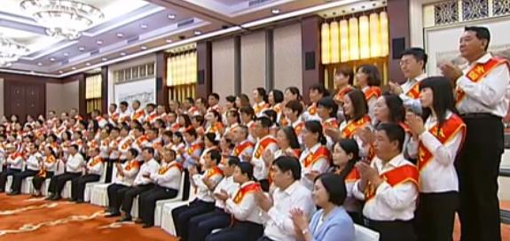 駱惠寧會見山西省受表彰的全國教育係統先進集體代表和先進個人