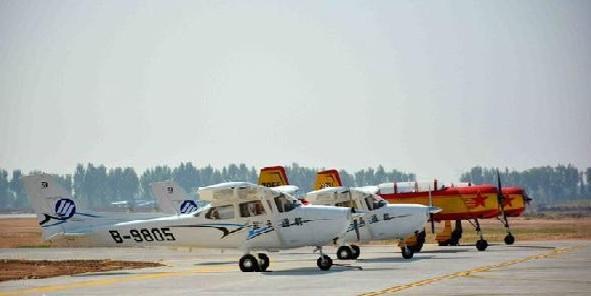 飛行大會助力山西航空體育運動發展