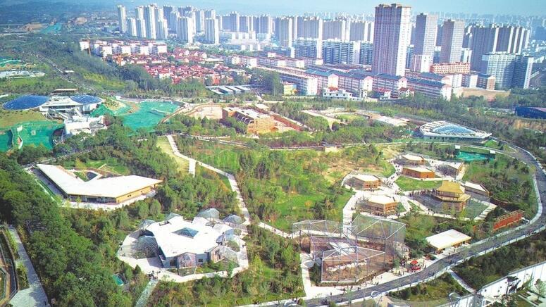 改造後的太原動物園