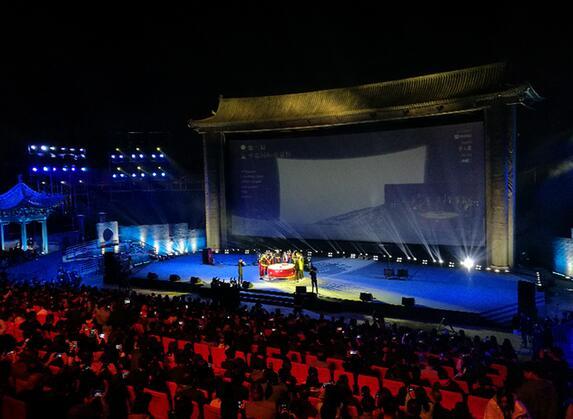 樓陽生調研第三屆平遙國際電影展