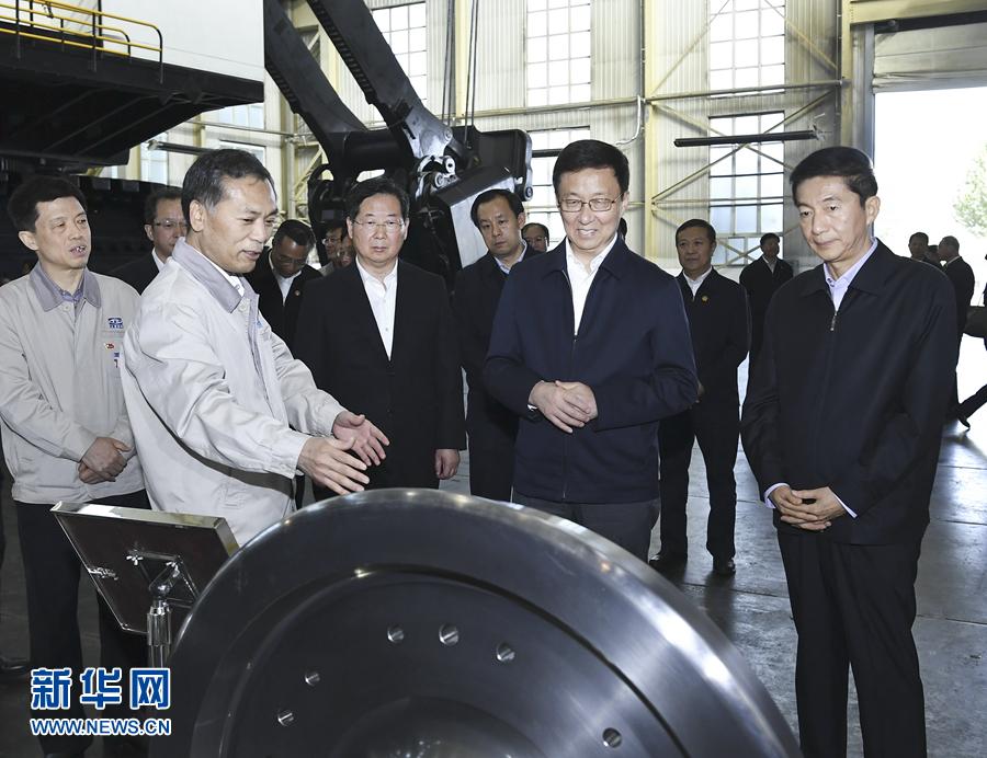 韓正:勇于改革創新 奮力推動經濟轉型發展