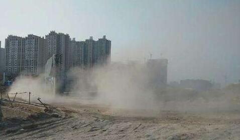 太原公布3起揚塵污染典型案例