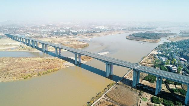 靈河高速晉蒙黃河大橋通車