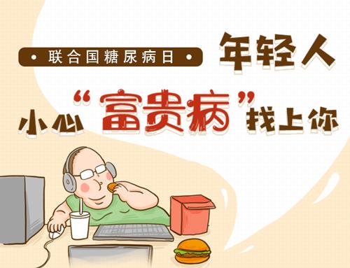 """聯合國糖尿病日丨年輕人,小心""""富貴病""""找上你"""