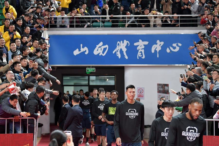 籃球——CBA常規賽:山西汾酒股份對陣廣東東莞銀行