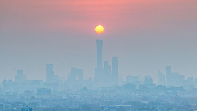 津冀魯豫晉陜鄂連片污染 北京空氣質量隨之惡化