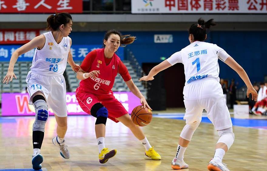 籃球——WCBA常規賽:新疆體彩勝山西竹葉青
