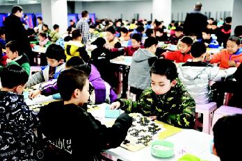 2019年太原市圍棋冬季升段賽舉行