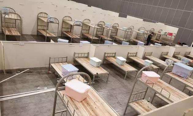 山西省國家緊急醫學救援隊搭建方艙醫院