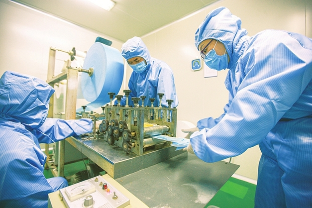 山西省9家口罩生産企業在産在建