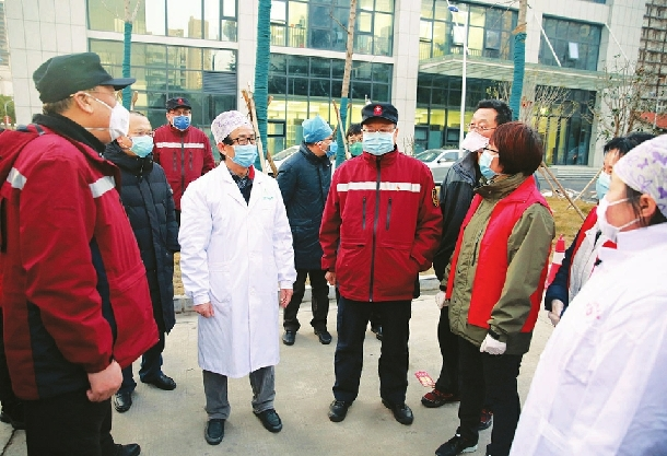 山西已有1000余名醫護人員奮戰在湖北抗疫一線