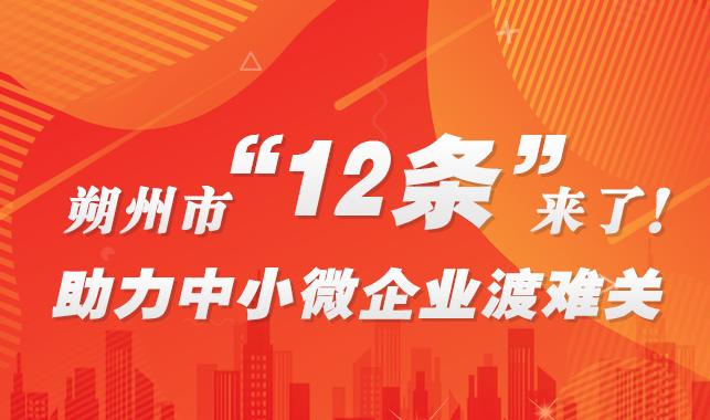 """朔州市""""12條""""來了!助力中小微企業渡難關"""