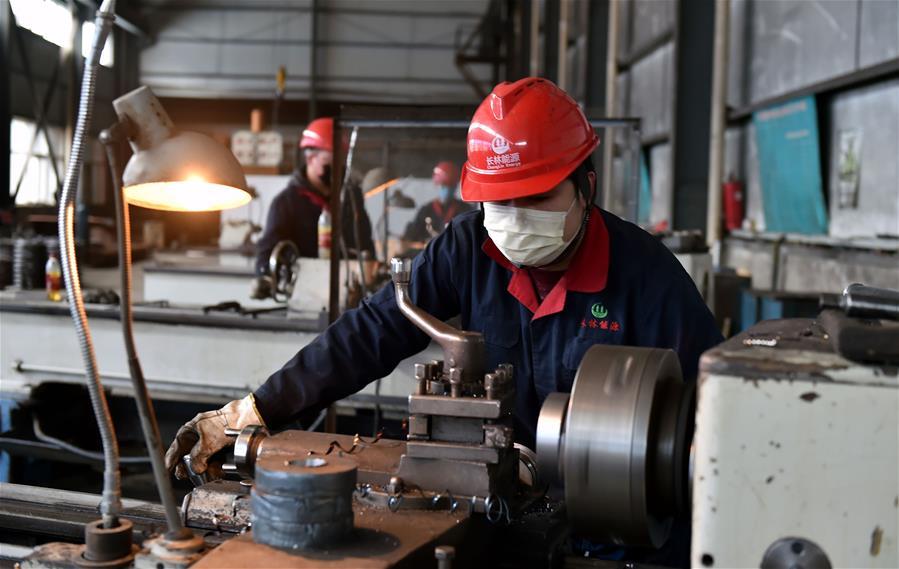 山西省規模以上工業企業開復工達八成以上