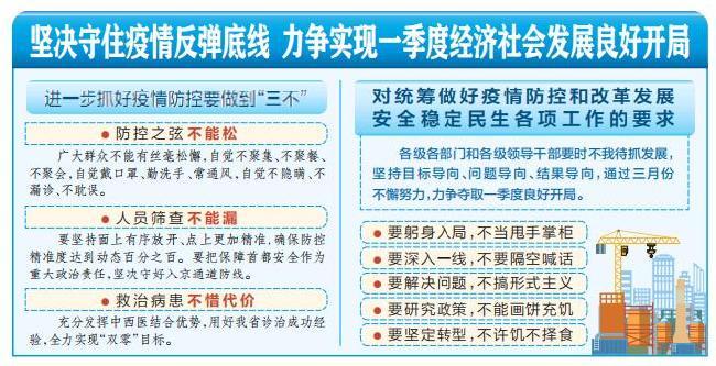 樓陽生主持召開山西省委第十八次專題會議暨省疫情防控工作領導小組會議