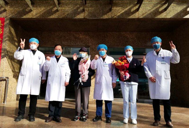 視頻直擊,太原市第20例新冠肺炎確診病例治愈出院