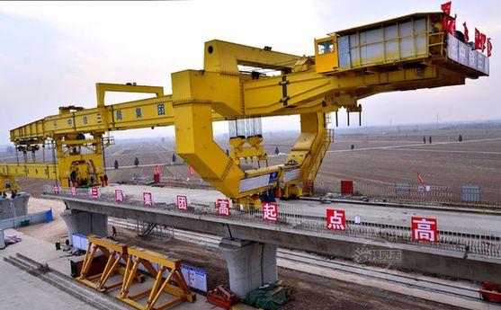 太焦高鐵襄垣東站提前7天實現封頂 為全線首個封頂車站項目