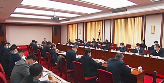 樓陽生主持召開省委第二十七次專題會議暨省疫情防控工作領導小組會議