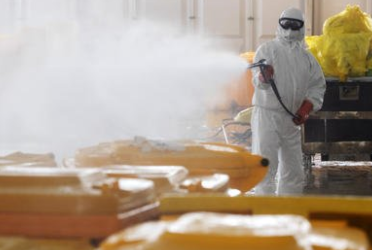 兩個月來山西省處置醫療廢物2845.1噸