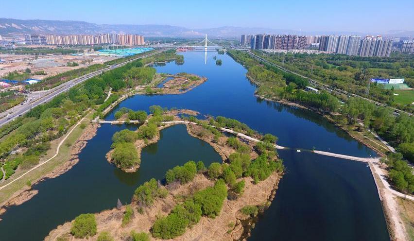 今夏太原市民可坐畫舫遊船遊覽汾河