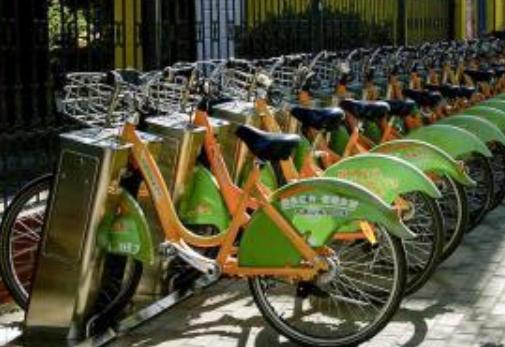 太原公共自行車租騎量逐漸增大