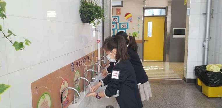 太原市新建路小學校舉行復課演練
