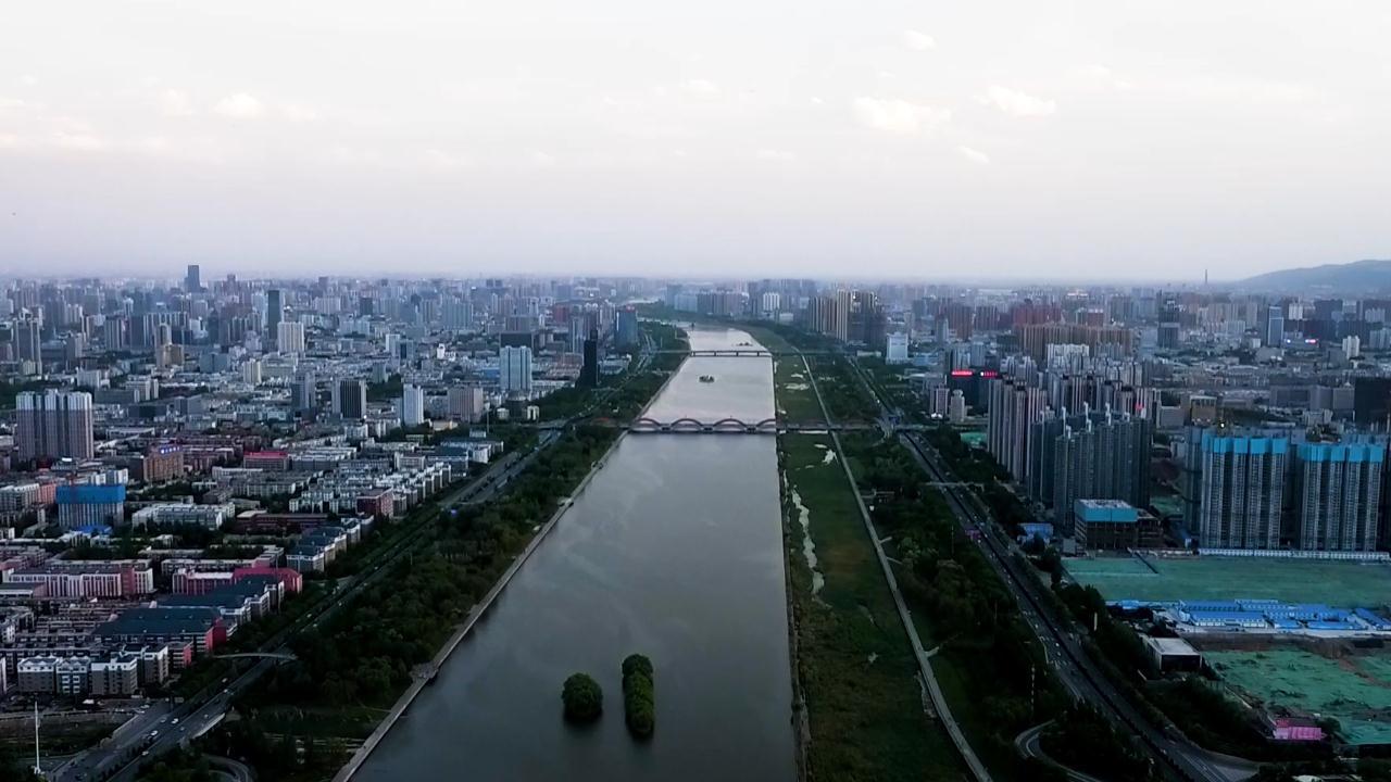 """【""""飛閱""""中國】汾河美景入畫來"""