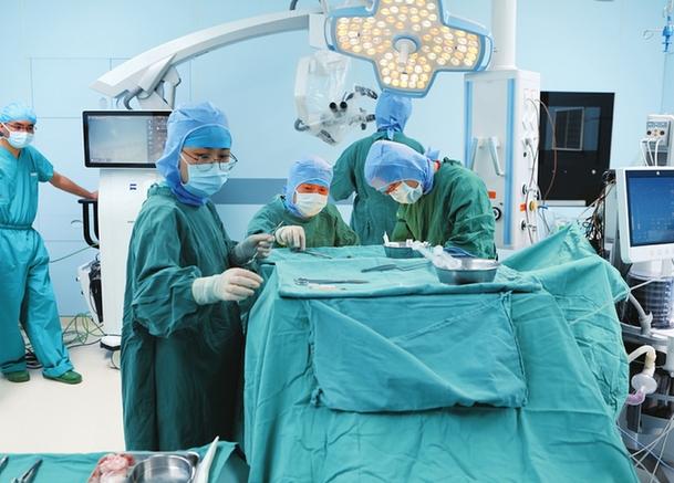 山西省首個數字化一體復合手術室投入使用