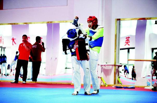 國家跆拳道隊、空手道隊舉行媒體開放日活動