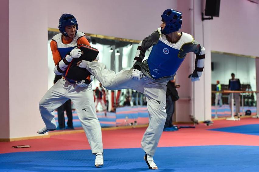 國家跆拳道隊、空手道隊訓練備戰