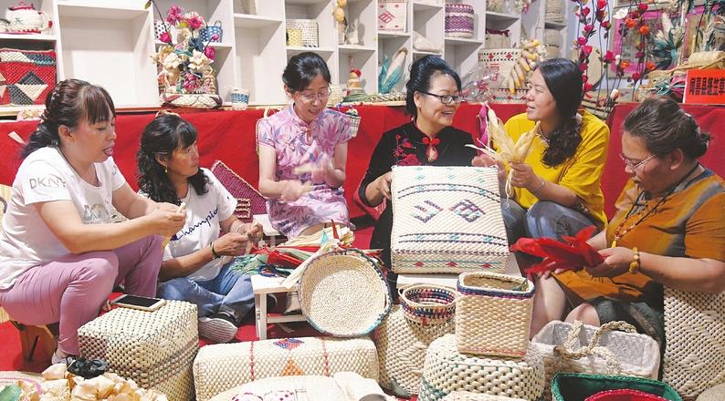 編織技藝學起來