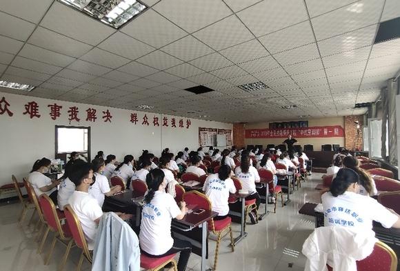 呂梁離石:技能培訓助勞動者高質量就業