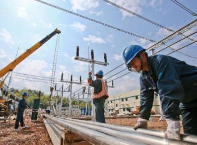 山西電力高質量完成上半年電網建設任務
