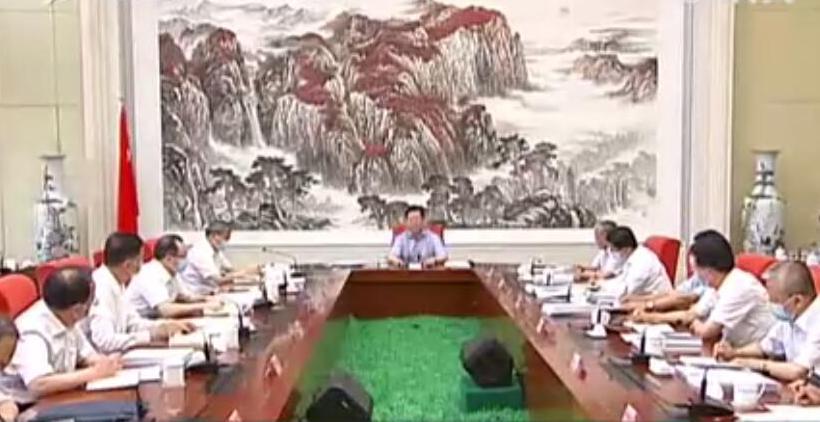 樓陽生主持召開市委書記市長專題會議