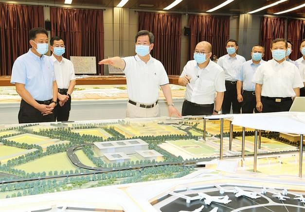 樓陽生:以文化自信歷史眼光設計建設太原機場第三航站樓