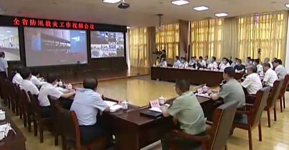 林武檢查全省防汛救災工作並召開視頻會議