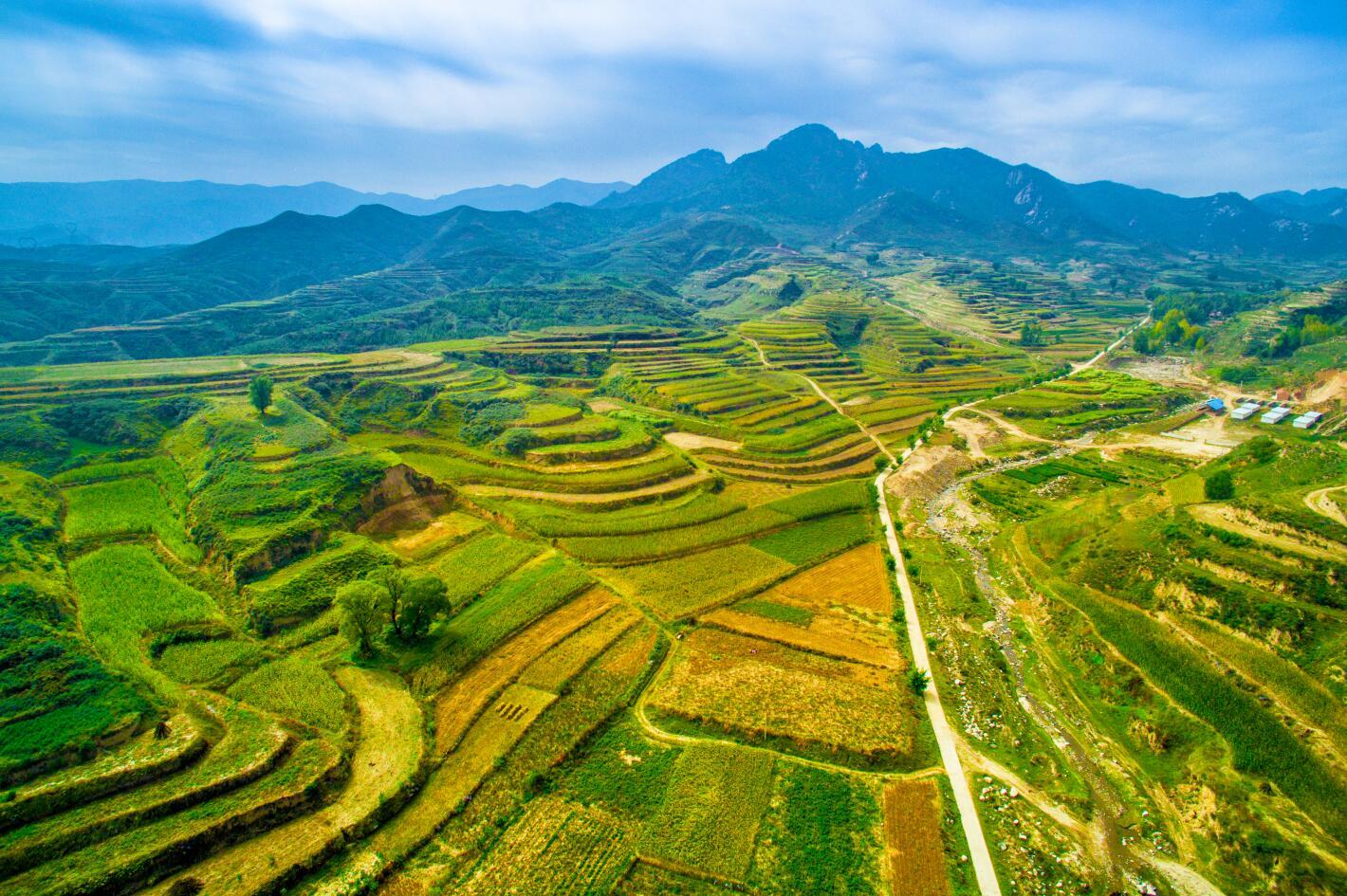 讓古交的人氣旺起來、第三産業活起來,把農業、農村、農民的發展短板補起來。