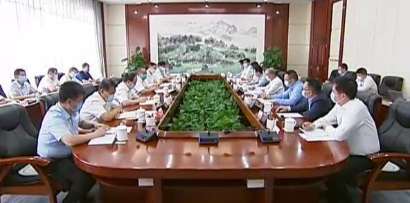 林武與復星國際董事長郭廣昌舉行工作會談