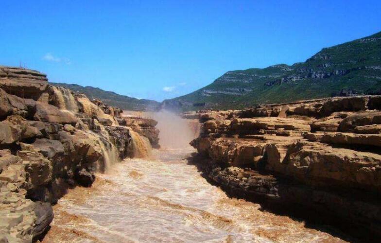 山西黃河壺口瀑布景區恢復開放