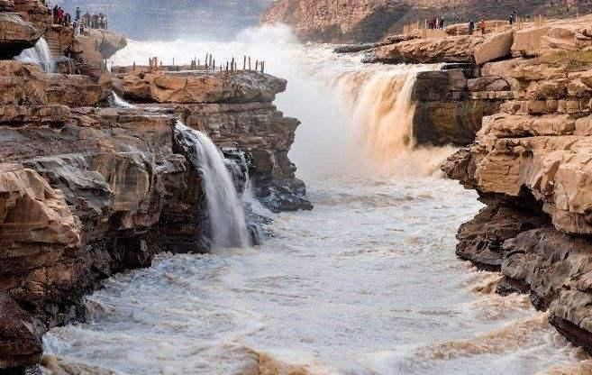 山西黃河壺口瀑布景區暫時關閉