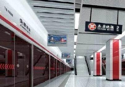 太原地鐵2號線開始空載試運行