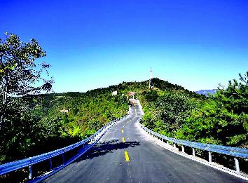 太原龍山旅遊公路全線貫通