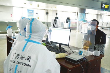 太原海關全力以赴保障疫情防護物資