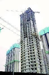 山西首個裝配式鋼結構高層住宅封頂