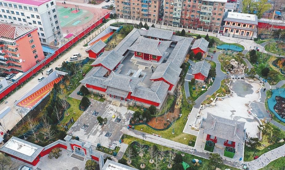 太原狄仁傑文化公園開園