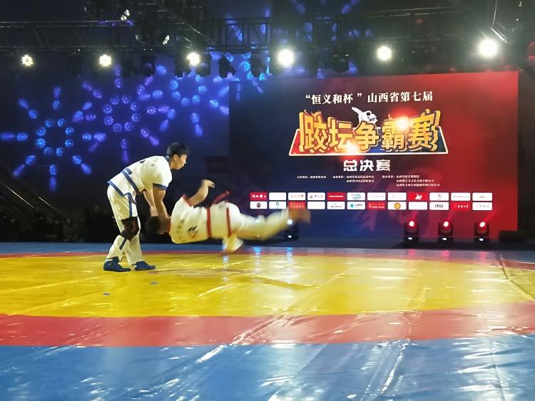 山西省第七屆跤壇爭霸賽總決賽舉行