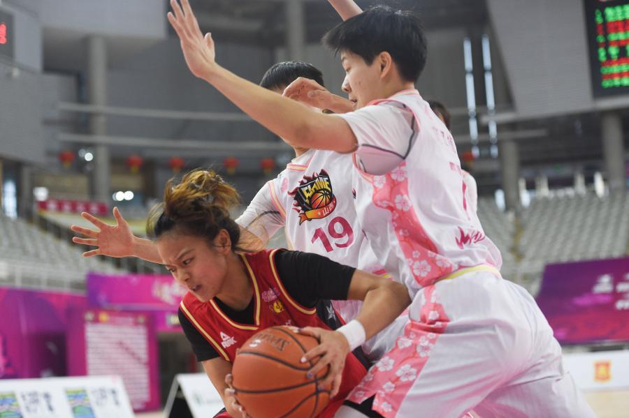 WCBA:山西竹葉青勝陜西天澤
