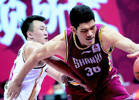 CBA常規賽山西男籃106比94勝浙江隊