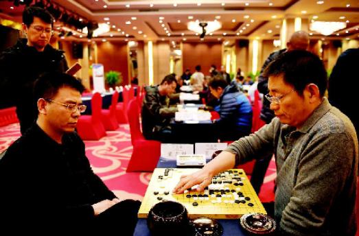 山西電力行業首屆職工圍棋賽車輪戰奪人眼球