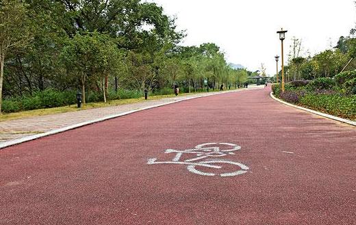 太原濱河自行車專用道主體完工 全長75公裏