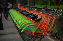 太原:每輛公交公共自行車每天至少消毒一次